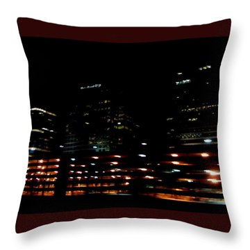 Georgia Lights Throw Pillow