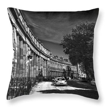 Georgian Crescent Throw Pillow