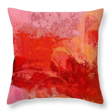 Gerberie - 221at02 Throw Pillow by Variance Collections