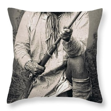 Geronimo - 1886 Throw Pillow