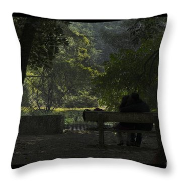 Romantic Moments Throw Pillow