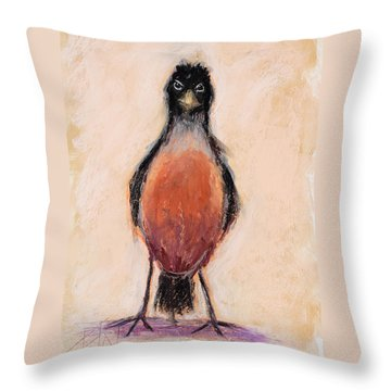 Get Out Of My Yard Throw Pillow