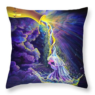 Get Ready Throw Pillow