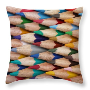Throw Pillow featuring the digital art Get The Point by Ron Harpham