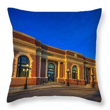 Get Your Ticket Throw Pillow by Marvin Spates