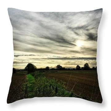 Getting Chilly Out There Throw Pillow
