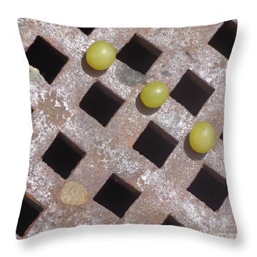 Getting Through An Obstacle Course Throw Pillow