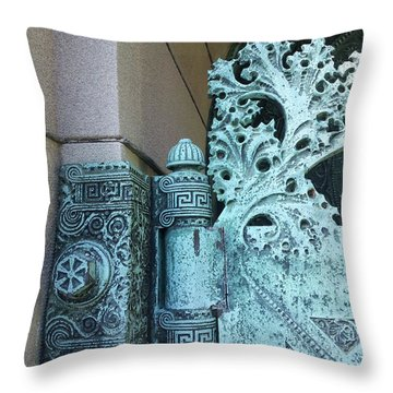 Getty Tomb Detail Throw Pillow