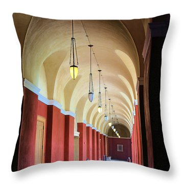 Getty Villa Inside Throw Pillow