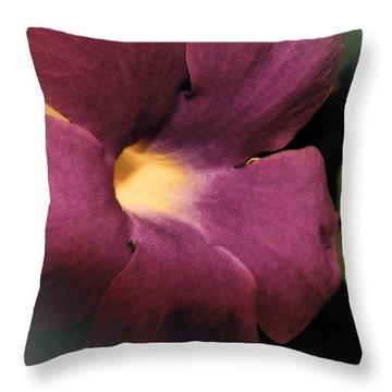Ghana Violet Throw Pillow