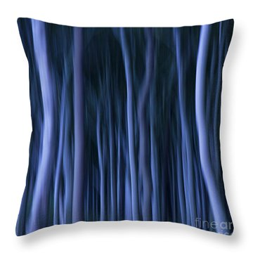 Ghost Forest Throw Pillow by Heiko Koehrer-Wagner