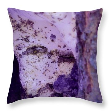 Ghost In The Tree Throw Pillow