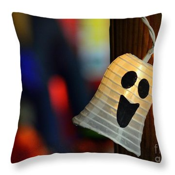 Throw Pillow featuring the photograph Ghost Light by Lisa L Silva