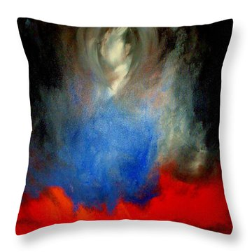 Ghost Throw Pillow by Lisa Kaiser