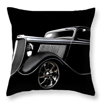 Classic Hot Rod Throw Pillows