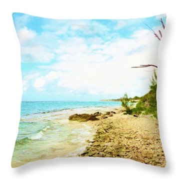 Throw Pillow featuring the photograph Ghost Tree by Amar Sheow