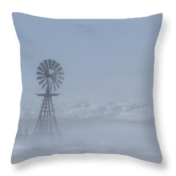 Ghost Windmill Throw Pillow