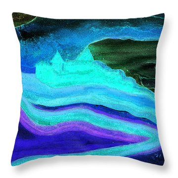 Ghostly Castle By Jrr Throw Pillow by First Star Art