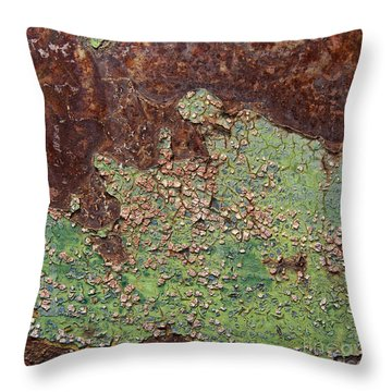 Throw Pillow featuring the photograph Ghostrider And Devil Herd Abstract Square by Lee Craig