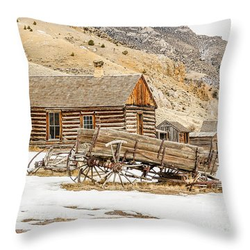 Ghosts In The Window? Throw Pillow