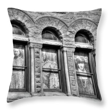 Ghosts Throw Pillow