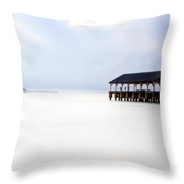 Ghosts Of Hanalei Throw Pillow