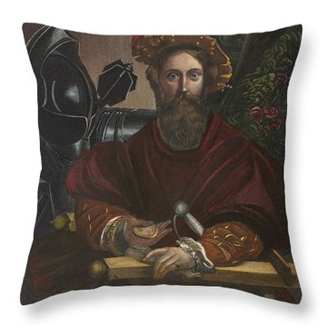 Gian Galeazzo Sanvitale Throw Pillow by Granger