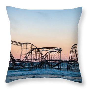 Giant Of The Sea Throw Pillow