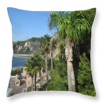 Giant Palm Throw Pillow