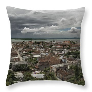 Gibara Holguin Cuba Throw Pillow