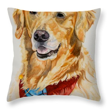 Gift Of Gold Throw Pillow by Susan Herber