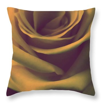 Gift Of Gold Throw Pillow by The Art Of Marilyn Ridoutt-Greene