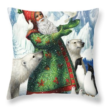 Gift Of Peace Throw Pillow