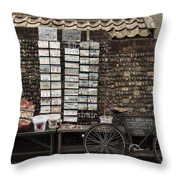 Gift Shop Throw Pillow by Svetlana Sewell