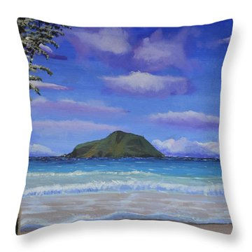 Gilligan's Island Throw Pillow by P Dwain Morris
