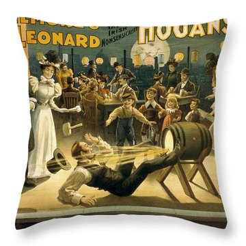 Gilmore And Leonard  Throw Pillow by Aged Pixel