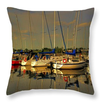 Gimli Harbour Throw Pillow