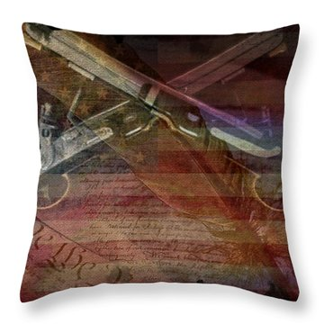 Gimme Back My Bullets Throw Pillow
