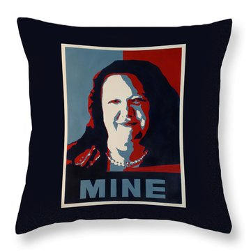 Gina Minehard Throw Pillow by Lyndsey Hatchwell