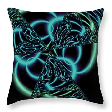 Throw Pillow featuring the digital art Gingezel 1 The Limit by Judi Suni Hall
