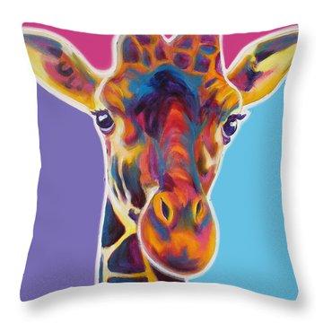 Giraffe - Marius Throw Pillow