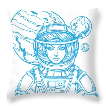 Venus Throw Pillows