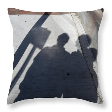 Throw Pillow featuring the photograph Give Me A Sign by Lyric Lucas