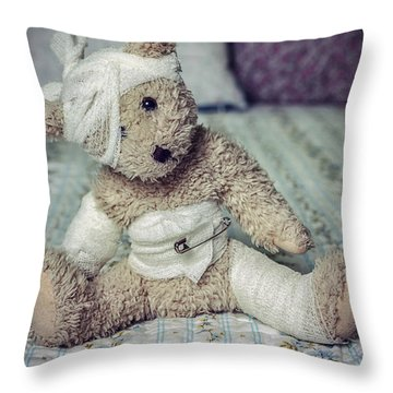 Give Me Some Comfort Throw Pillow by Joana Kruse