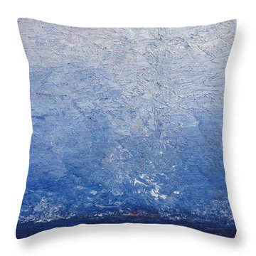 Give Up The Ghost Throw Pillow by Shannon Grissom