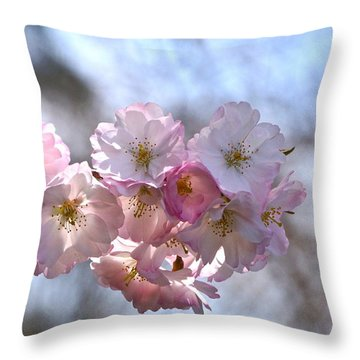Giving Thanks Throw Pillow by Byron Varvarigos