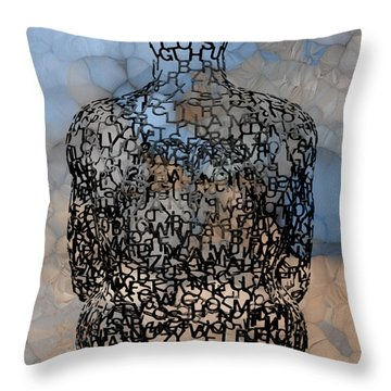 Giving Thought Throw Pillow