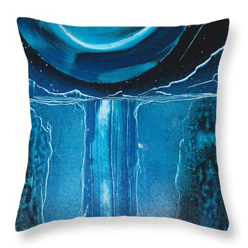 Glacial Erratic Throw Pillow
