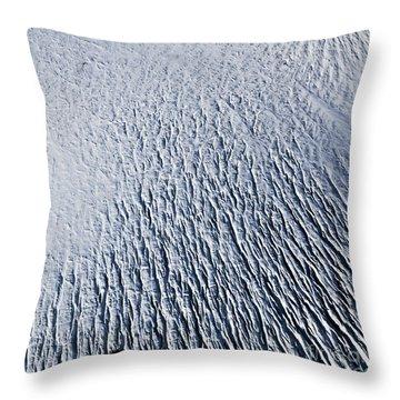 Glacier Throw Pillow by Gunnar Orn Arnason