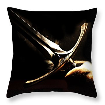 Glamdring - Foe Hammer Throw Pillow by Christopher Gaston